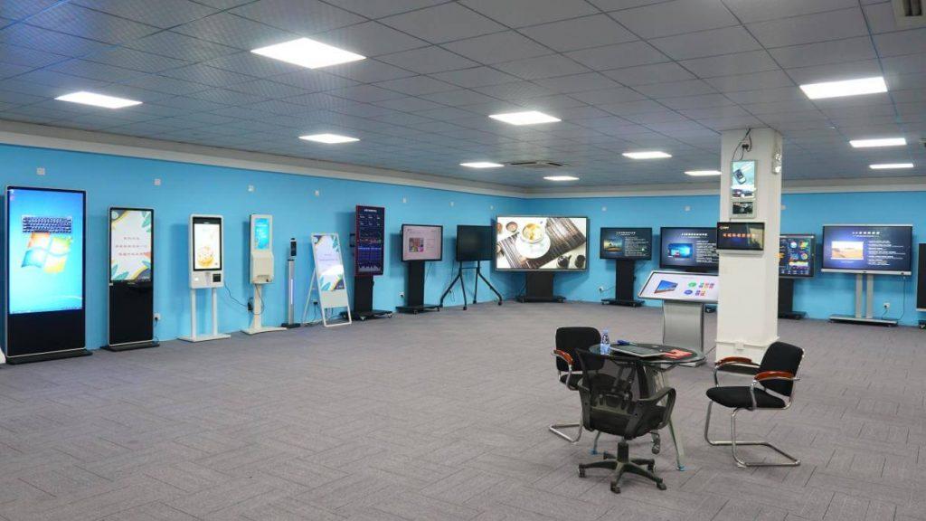 interactive whiteboard showroom